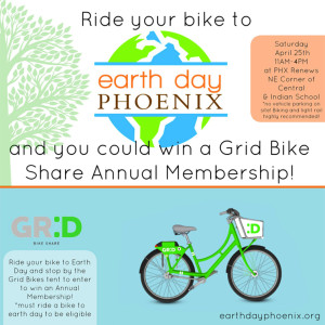 Earth Day Phoenix flier