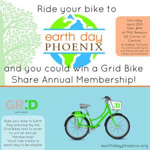 Earth Day Phoenix flier