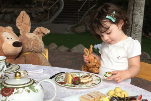 Phoe-Phoe's Tea Party at The Phoenician