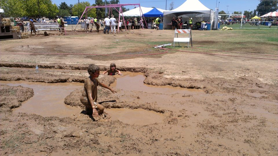 Mighty Mud Mania's Original Course