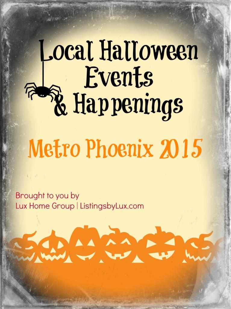 Local Halloween Events and Happenings Metro Phoenix 2015